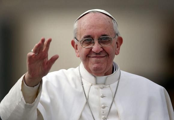Papa Francisc va veni pentru prima oară în România pe 31 mai 2019. Foto: Gulliver/Getty Images