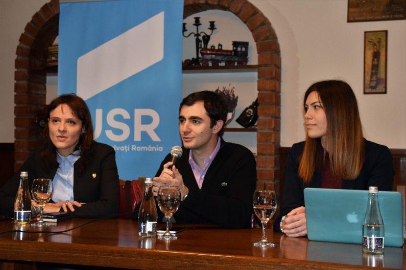 Parlamentarii USR au vorbit despre viitorul mediului de afaceri și despre cum poate fi stimulat antreprenoriatul