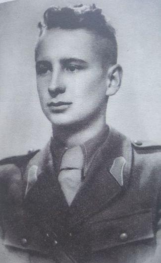 Nil Dorobanțu , elev la Școala Militară-Foto:Casa de Cultură Odobești