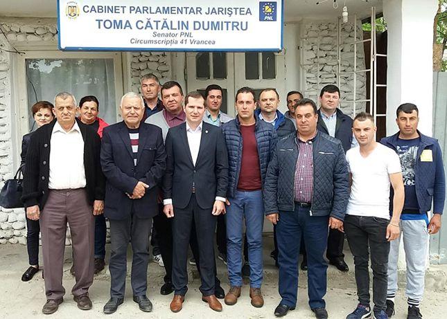 Deschidere cabinet senatorial Cătălin Toma la Jariștea-2