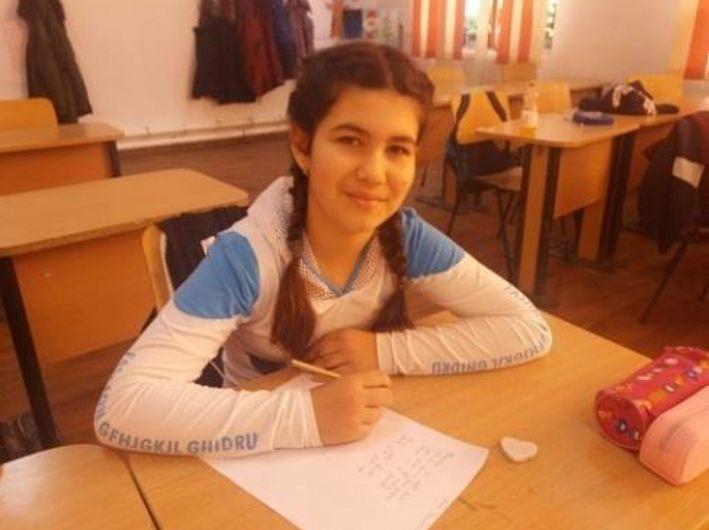 Andreea Roxana Ivan, elevă la Școala Gimnazială Homocea
