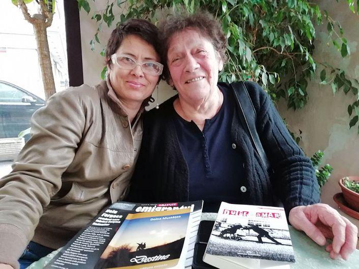 Vrânceanca Georgeta din Odobești, de 12 ani în Italia, alături de Doina Mustățea, colaborator ZdV