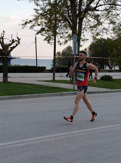 Tânărul atlet originar din Vrancea, Ionuț Pleșu Foto:aimx.ro