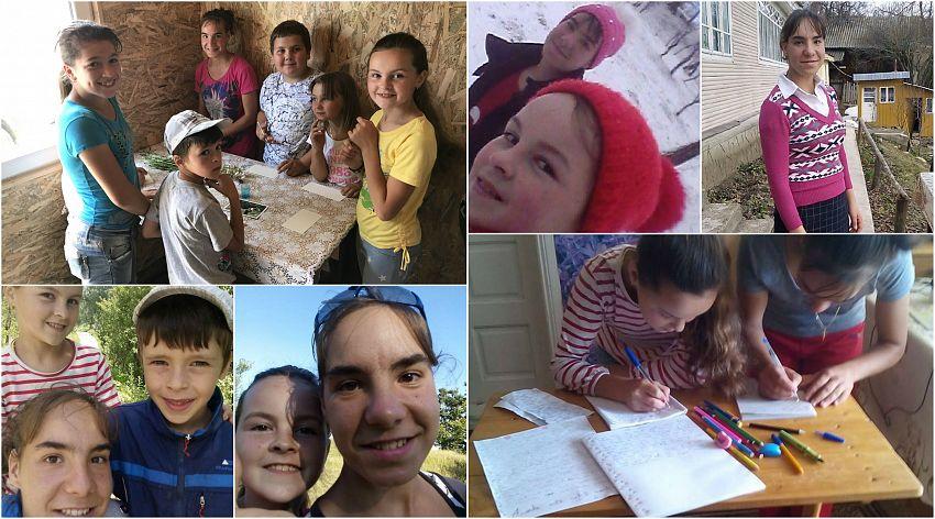 Copiii au lucrat împreună timp de câteva luni pentru acest proiect, fiind coordonați prin intermediul internetului