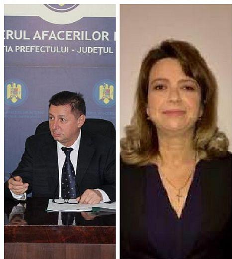 Gheorghiță Berbece ( foto stânga) și Claudia Serafimciuc( foto dreapta) au primit votul Biroul Politic Național al PNL, luni 15 februarie 2021 pentru a continua activitatea în funcțiile de prefect și respectiv subprefect al județului Vrancea