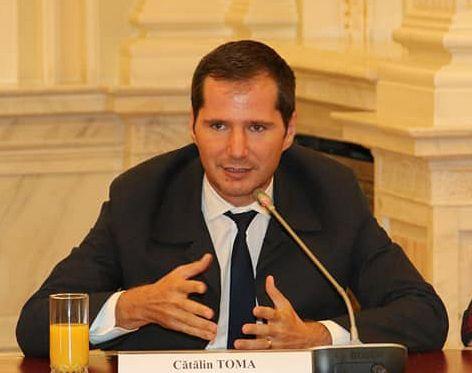 FOTO: Senatorul Cătălin Toma, președintele PNL Vrancea