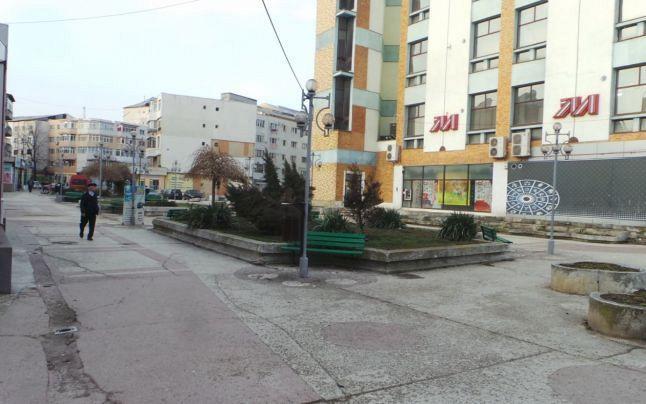 Foto:Piața Milcov  din Focșani-Foto:adevarul.ro