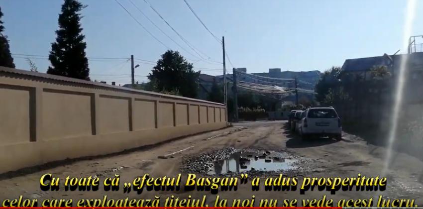 FOTO: Strada Ion Basgan, ca și strada Rovine, arată precum în Evul Mediu