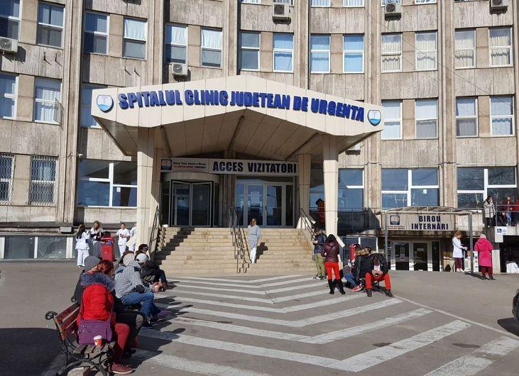 Foto: Spitalul Clinic Județean de Urgență Constanța, unde medicul Valeriu Neagoe a lucrat timp de aproape 20 de ani. Sursă foto: europafm.ro