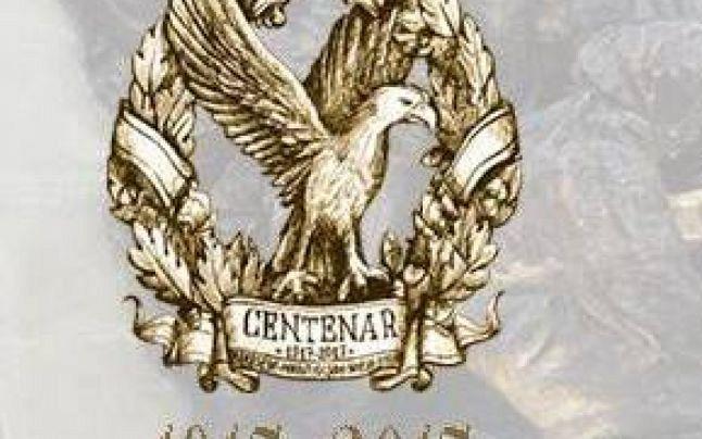 """Logo-ul oficial al evenimentelor cuprinse în Centenarul Marelui Război """"Vrancea Eroica 1917- 2017"""" a fost realizat de artistul Mihai Lăduncă"""