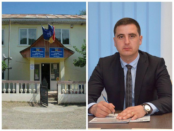 Dragoș Ciobotaru primarul comunei Vizantea Livezi