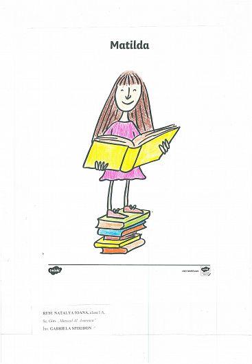 """Desenul realizat în cadrul Proiectului Educaţional Internaţional ,,Prietenie…pe o…sfoară…virtuală…"""" de Ioana Natalya Rusu"""