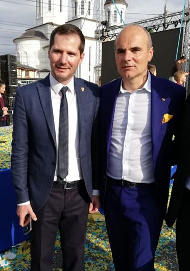 FOTO: Președintele PNL Vrancea, Cătălin Toma, a sancționat împreună cu Rareș Bogdan, minciunile celor de la PSD, ALDE și UNPR