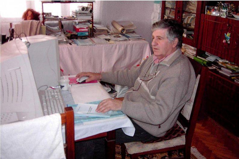 Profesorul Toder-Titel Chirilă din Năruja