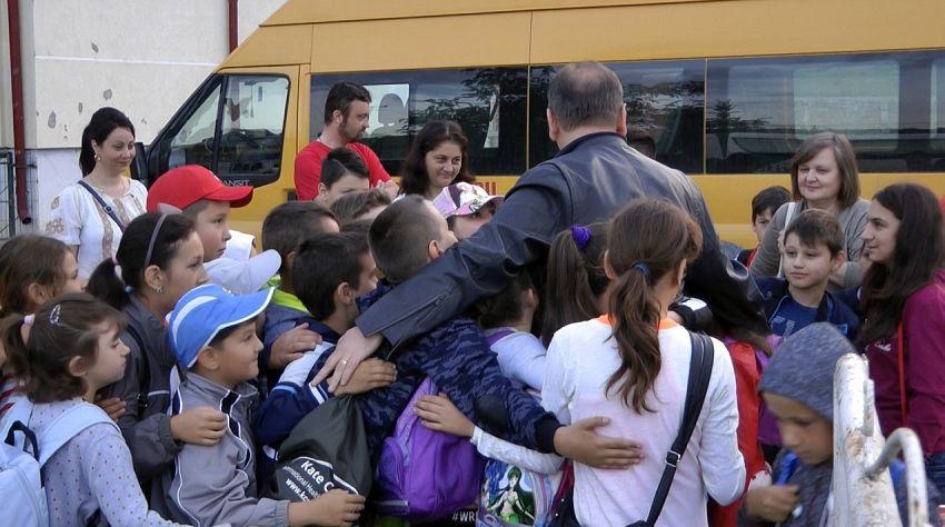 Foto: Îmbrățișare de grup