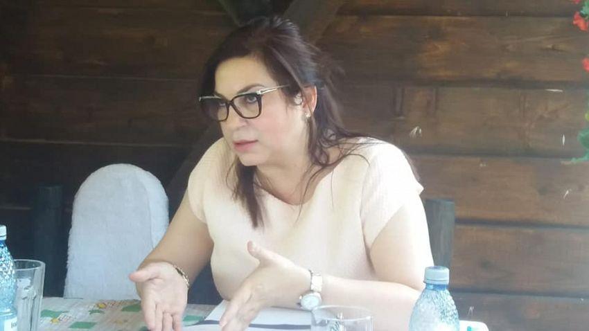 Directorul general al Companiei Naţionale de Investiţii (CNI), Manuela Pătrășcoiu a fost sâmbătă 27 iunie 2020, în Vrancea