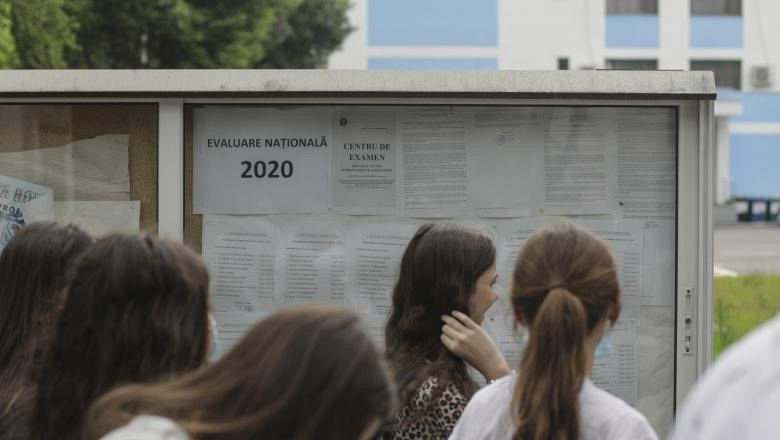 Evaluare Națională 2020 FOTO: Inquam Photos / Octav Ganea
