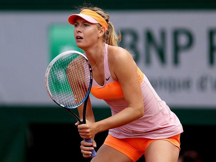 Maria Șarapova face audiență mai mare acum când joacă mai rar