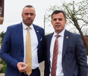 Foto:Mihai Drumea, alături de Ion Ștefan, deputat PNL de Vrancea