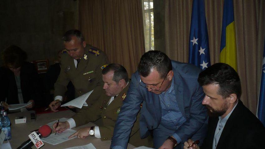 """Fotografie  transmisă de OficialiiSpitalului Militar de Urgență  """"Dr. Alexandru Popescu""""Focşani"""