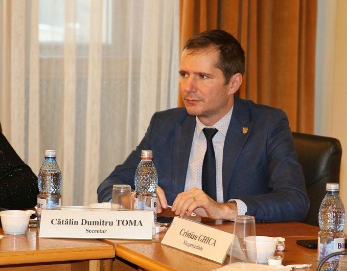 Președintele PNL Vrancea, senatorul Cătălin Toma