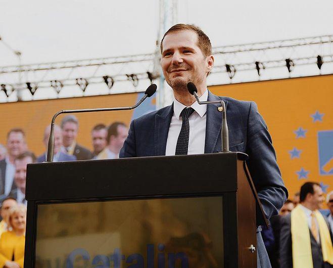 Senatorul Cătălin Toma, președintele Partidului Național Liberal Filiala Vrancea