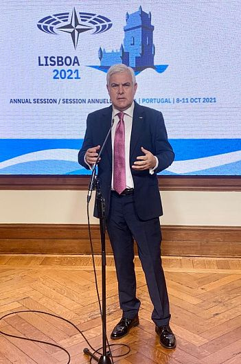 Senatorul PSD de Vrancea Angel Tîlvăr a fost reales sâmbătă 9 octombrie 2021, Președintele Comisiei pentru Democrație și Securitate al Adunării Parlamentare NATO.