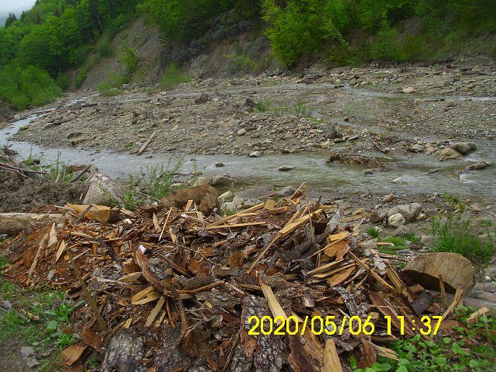 Foto 2 SGA Vrancea:Râu Năruja, comuna Nistoreşti