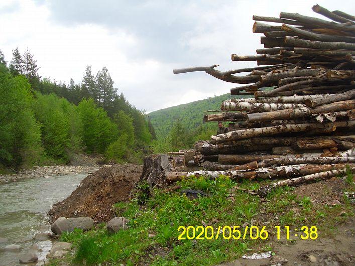 Foto1 SGA Vrancea:Râu Năruja, comuna Nistoreşti