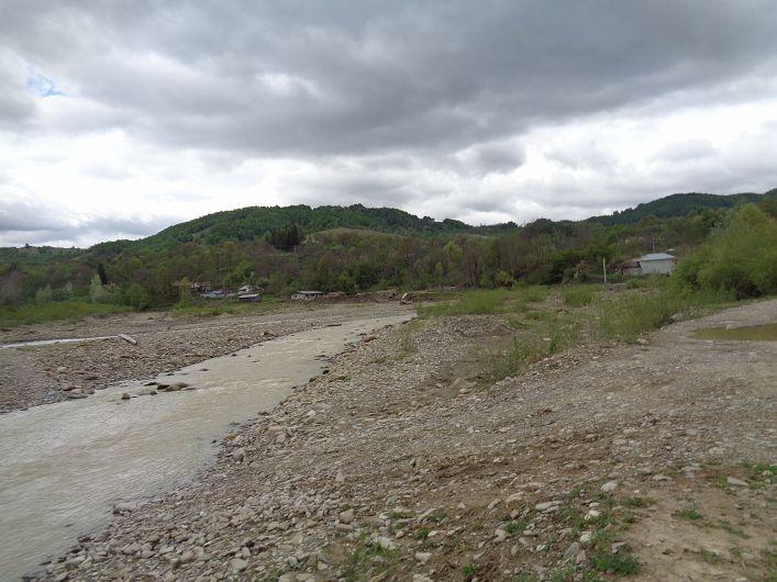 Foto 5 SGA Vrancea:Râu Zăbala, comuna Paltin