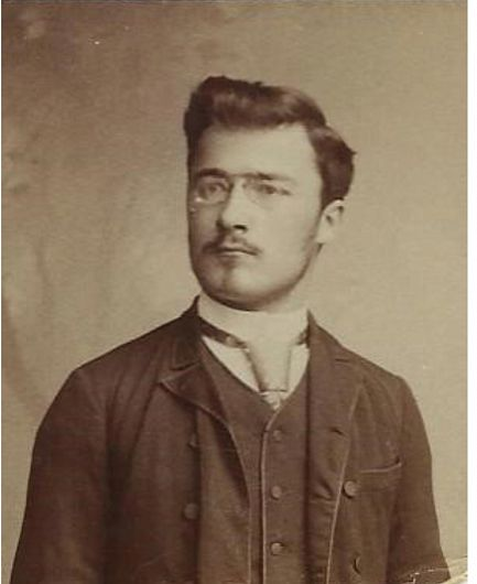 Simion Mehedinți-elev