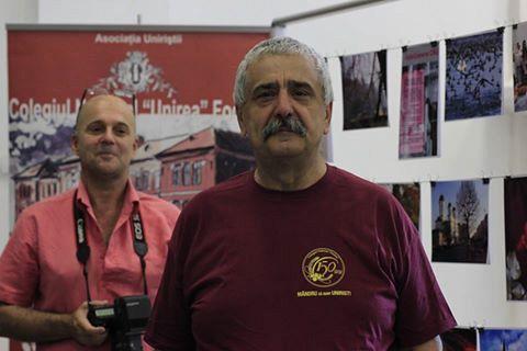 Profesorul Dan Popoiu, unul dintre cei mai mândri uniriști