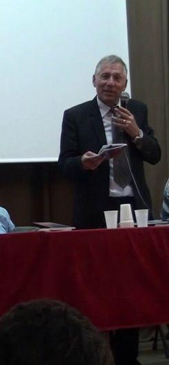 Poetul focșănean ing. Ionel Marin fondatorul  Asociației Cultural - Umanitare BOGDANIA