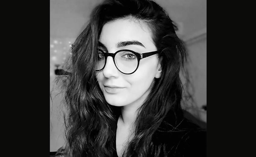 Melissa Bozkus, studentă laIstoria si Teoria Artei la Facultatea de Istorie a Universității București a decedat la vârsta de doar 19 ani. Foto: Facebook