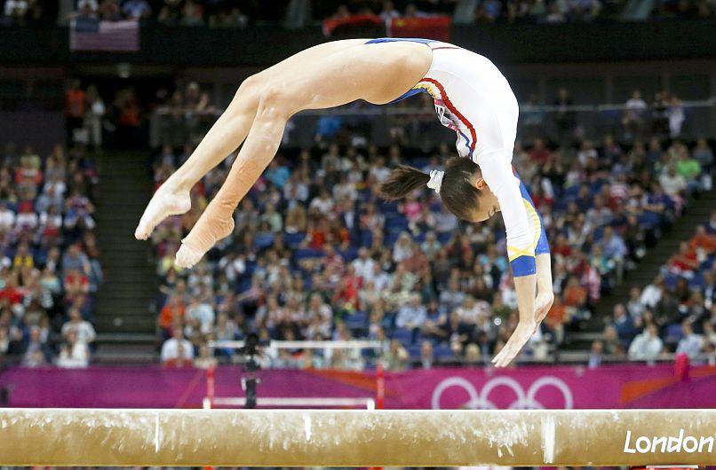 Cea mai valoroasă sportivă sportivă română care va fi prezentă la Taipeh, gimnasta Larisa Iordache