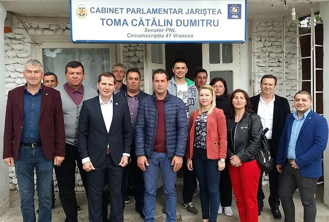 Deschidere cabinet senatorial Cătălin Toma la Jariștea-1
