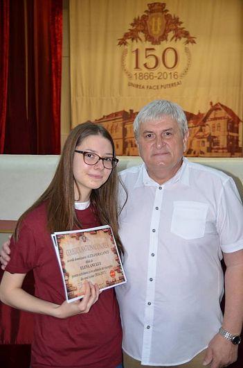 Eleva anului 2017 la CNU-Alexandra Iancu