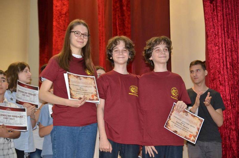 1+2 uniriștii anului 2017 :Alexandra Iancu și frații Ariton