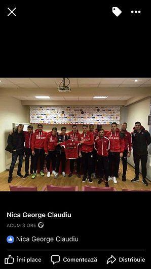 Fotografie preluată de pe contul de facebook Uniti prin fotbal