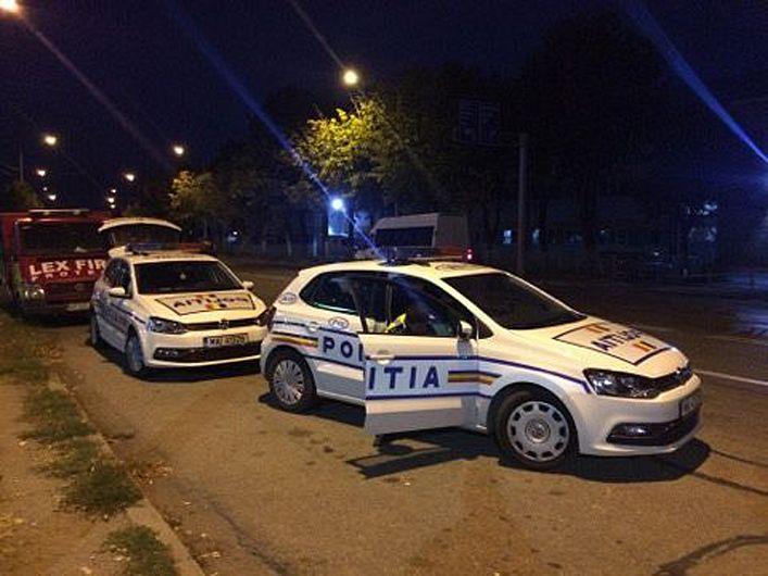 Foto: Poliţiştii au derulat acţiuni în mai multe zone ale judeţului