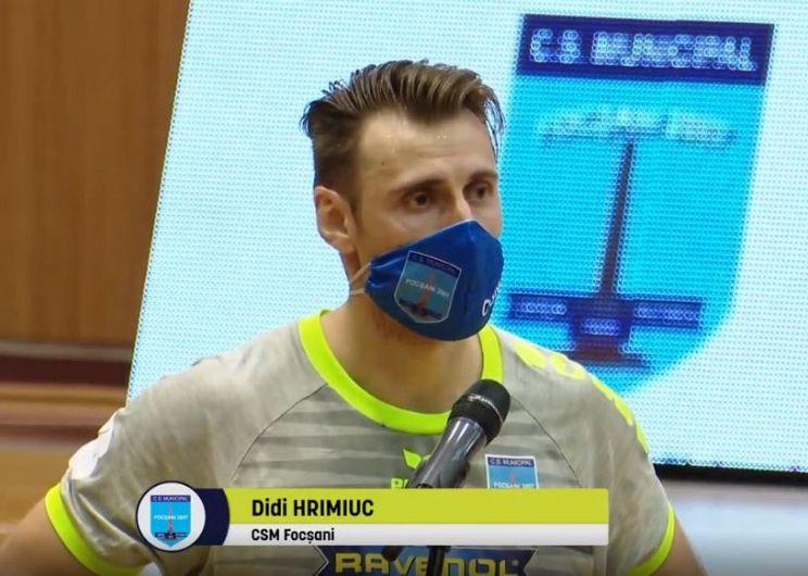 SCM POLITEHNICA TIMIȘOARA – CSM FOCȘANI 24-32 (12-19). Foto:Ilie Rosianu