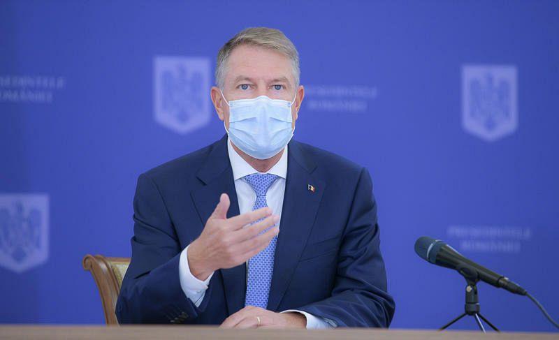 Klaus Iohannis, conferinta de presa Foto: Presidency.ro