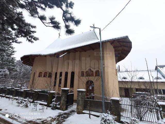 Biserica unde s-a întâmplat nenorocirea.Foto:monitoruldesuceava.ro