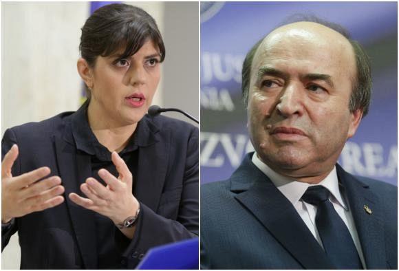 """Foto:Tudorel Toader spune că îi va informa pe miniştrii de justiţie din UE despre """"abuzurile"""" comise de fosta şefă DNA, după ce Laura Codruța Kovesi a fost declarată favorită pentru șefia Parchetului European-foto:digi24.ro"""