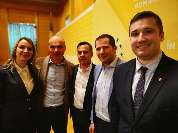 Partidul Național Liberal Filiala Vrancea are trei candidați pe lista partidului pentru alegerile europarlamentare: Ana-Maria Dimitriu,  Ciprian Epure și  Victor Ciumac