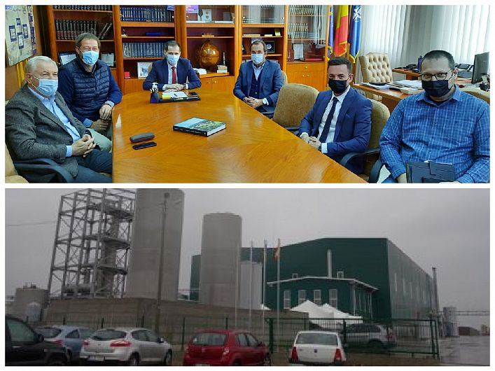 """După ce marți 6 aprilie CEO-ul Agrovin, German Vaquero Leon a participat la o întâlnire la Ministerul Agriculturii şi Dezvoltării Rurale ( MADR) exprimându-și dorința să redeschidă distileria Bioaldevin, de pe Șoseaua Vrancei, joi 7 aprilie 2021 și-a reafirmat dorința și într-o întâlnire la Consiliul Județean Vrancea.""""În cadrul discuțiilor am stabilit un calendar comun de acțiuni în urma cărora investiția stopată de mai mulți ani să fie deblocată"""" precizează președintele Consiliului Județean Vrancea într-o concluzie făcută publică prin intermediul unei postări pe contul de facebook, după întâlnirea de joi 7 aprilie 2021 de la CJ"""