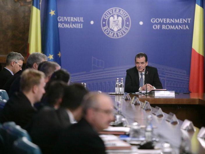 Guvernul Orban Foto: gov.ro