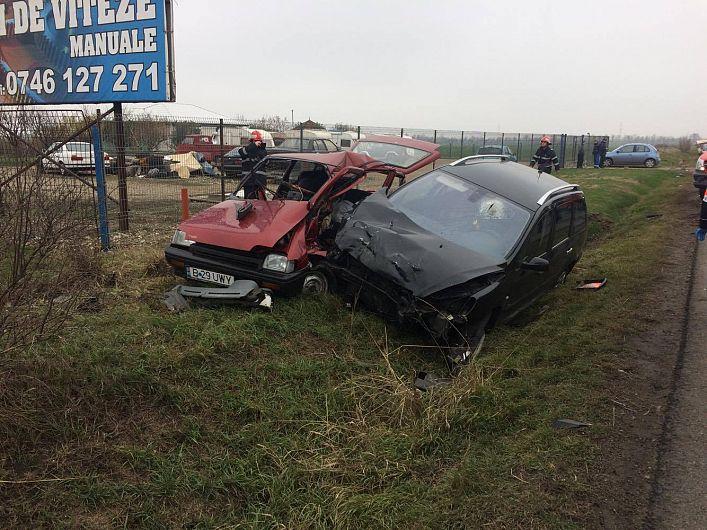 Foto: Un bărbat din București a decedat în accidentul de la intrarea din Garoafa