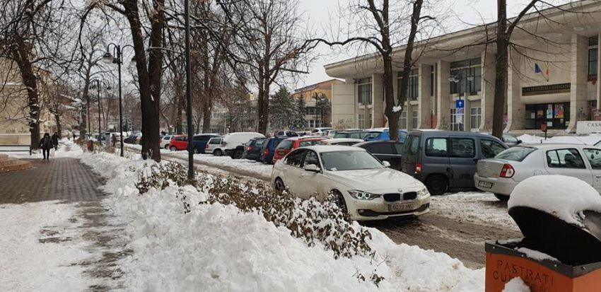 Fotografie preluată de pe contul de facebook:Focsani - strada mea