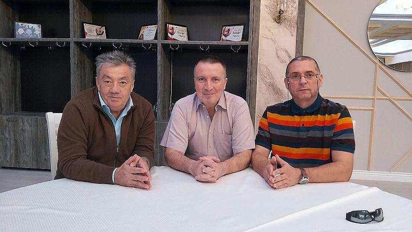 Foto: (stânga) Ciprian Nica, expert internațional în materie de justiție, (centru) Bruno Demaille-mediator și negociator internațional, expert NATO (dreapta